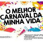 Plaquinhas divertidas de Carnaval gratis