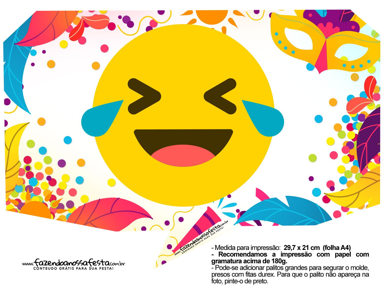 Plaquinhas divertidas de Carnaval gratis 22