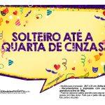 Plaquinhas divertidas de Carnaval gratis 24