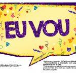 Plaquinhas divertidas de Carnaval gratis 29