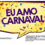 Plaquinhas divertidas de Carnaval gratis 34