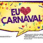 Plaquinhas divertidas de Carnaval gratis 35
