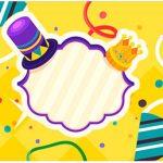 Rotulo Agua Carnaval