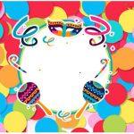 Rotulo Agua Festa Carnaval Infantil