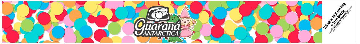 Rotulo Guarana Caculinha Festa Carnaval Infantil