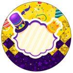 Rotulo Personalizado para latinha e toppers Carnaval