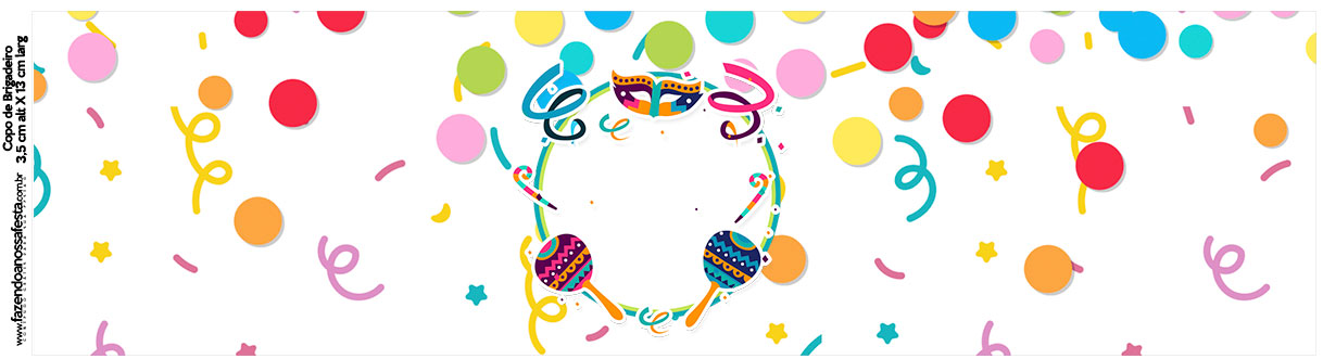 Rotulo Squezze Festa Carnaval Infantil