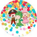 Rotulo Tubete 2 Festa Carnaval Infantil