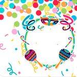 Tag Agradecimento Etiqueta Kit Festa Bailinho de Carnaval