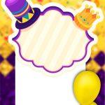 convite virtual animado de Carnaval