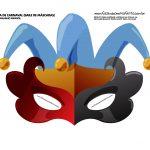 mascara de carnaval infantil