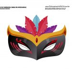 mascara de carnaval colorida infantil 1