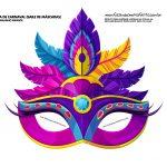 mascaras de carnaval infantil