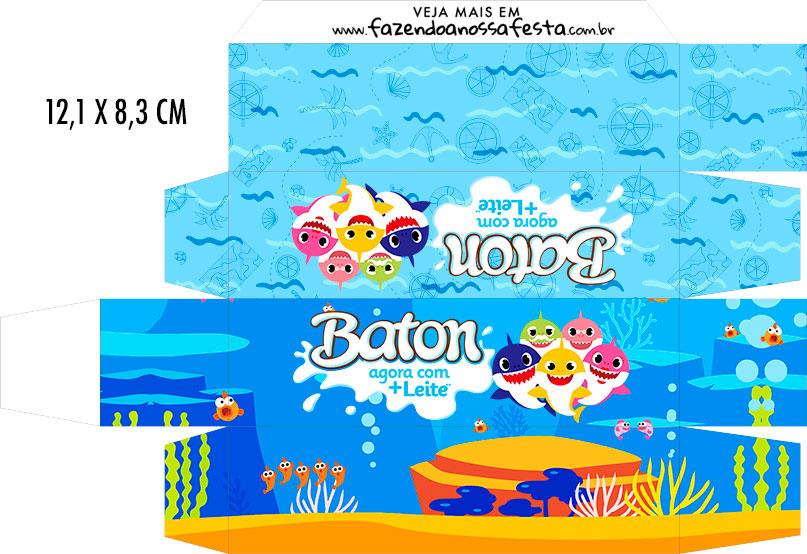 Caixa Baton Baby Shark