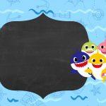 Convite Tema Baby Shark