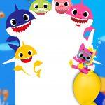 Convite Virtual Baby Shark