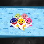 Convite Virtual Chalkboard Baby Shark