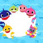 Convite aniversario Baby Shark 2