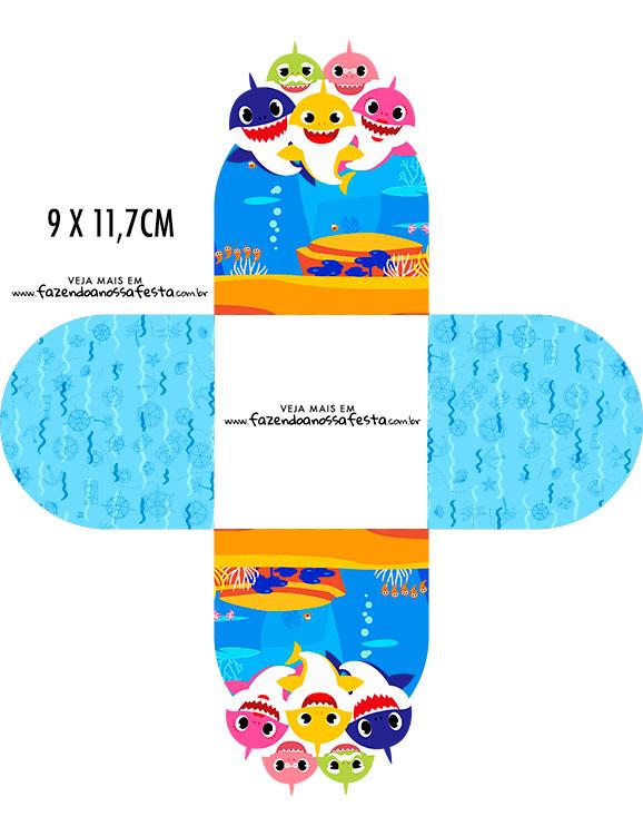 Forminha Brigadeiro 3d Kit Festa Baby Shark