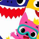 Fundo Festa Baby Shark 10