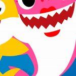 Fundo Festa Baby Shark 11