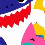 Fundo Festa Infantil Baby Shark 10