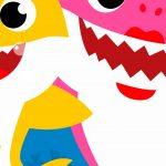 Fundo Festa Infantil Baby Shark 11