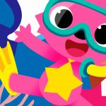 Fundo Festa Infantil Baby Shark 14