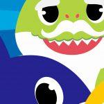 Fundo Festa Infantil Baby Shark 6