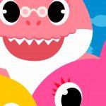 Fundo Festa Infantil Baby Shark 7