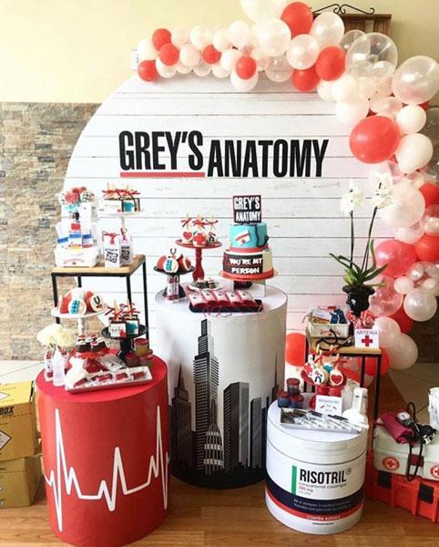Ideia Painel Festa Greys Anatomy 24