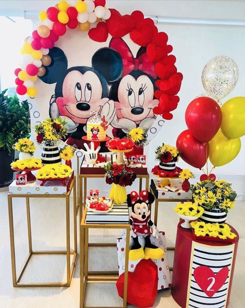Ideia Painel Festa Mickey e Minnie 17