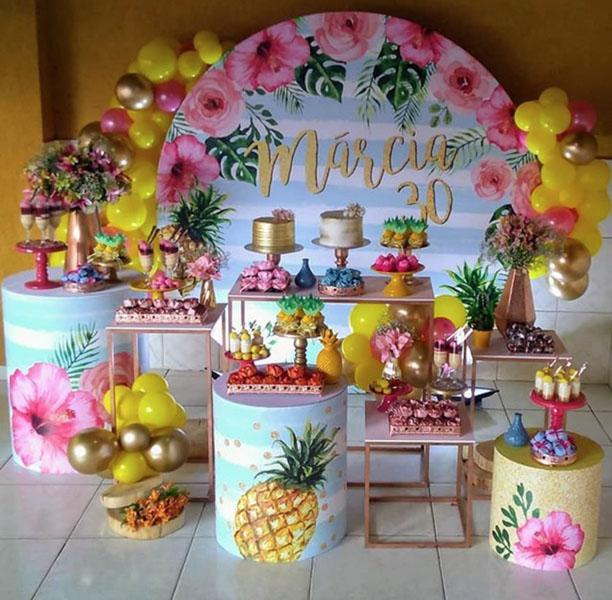Ideia Painel Festa Tropical 20