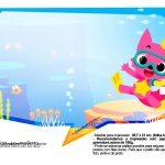Plaquinhas Baby Shark 26