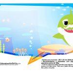 Plaquinhas Baby Shark 30