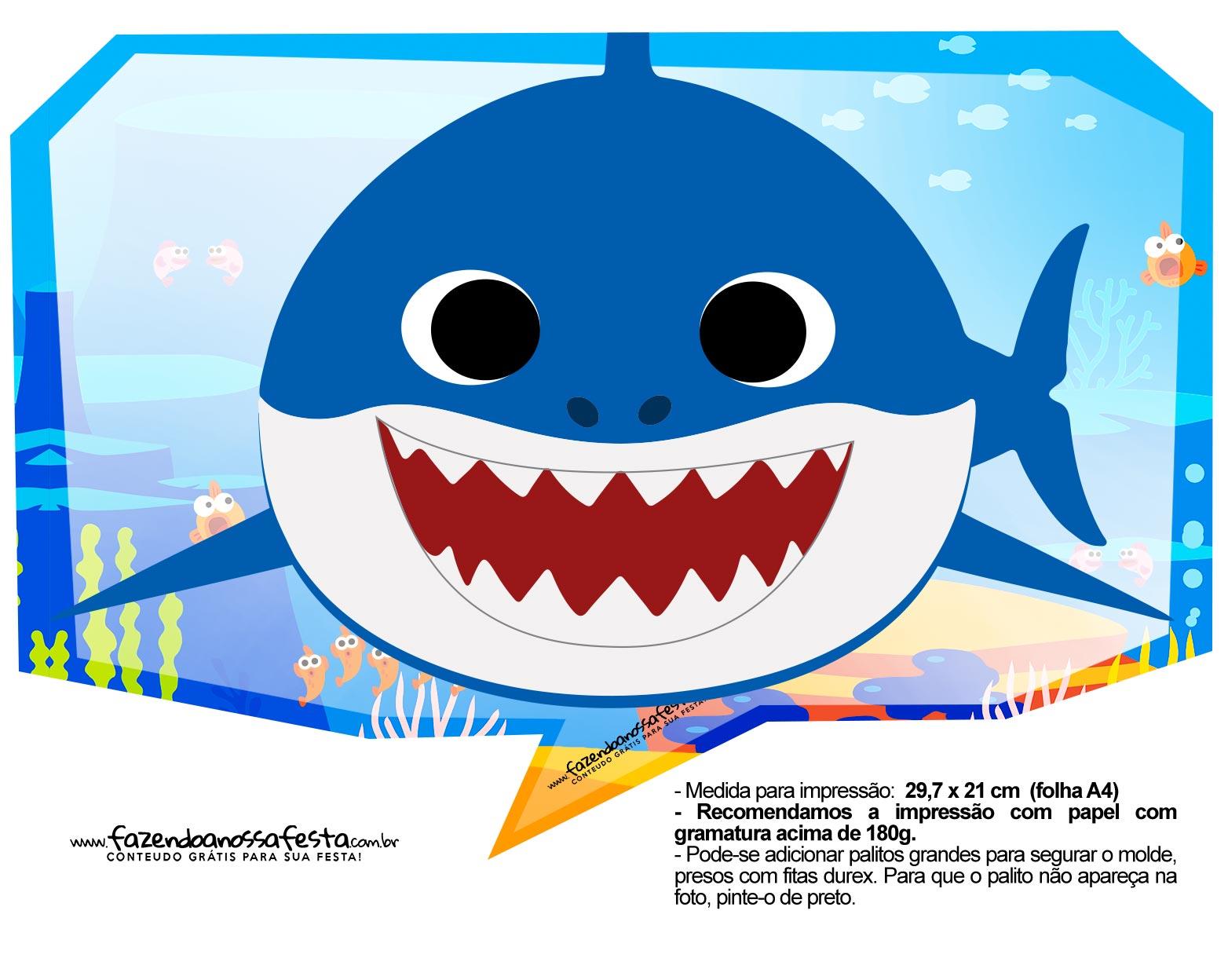 Plaquinhas Baby Shark 33
