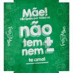 Caixa Frases de Mae nem mais nem menos tampa