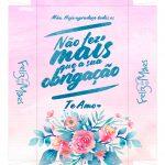 Caixa Frases de Mae obrigacao tampa