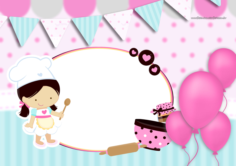 Convites para Festa Confeitaria 3
