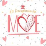 Molde quadrado Kit Emergencia da Mae
