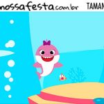 Rotulo Kit Festa Baby Shark Rosa