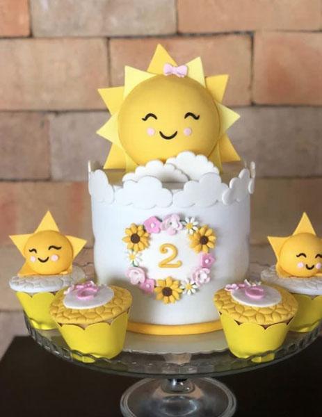 10 Decoracao Festa Sunshine Ideias