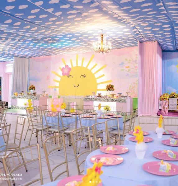 13 Decoracao Festa Infantil Sunshine