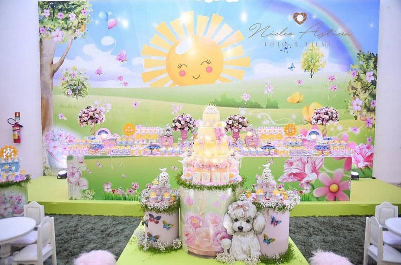 14 Decoracao Festa Infantil Sunshine