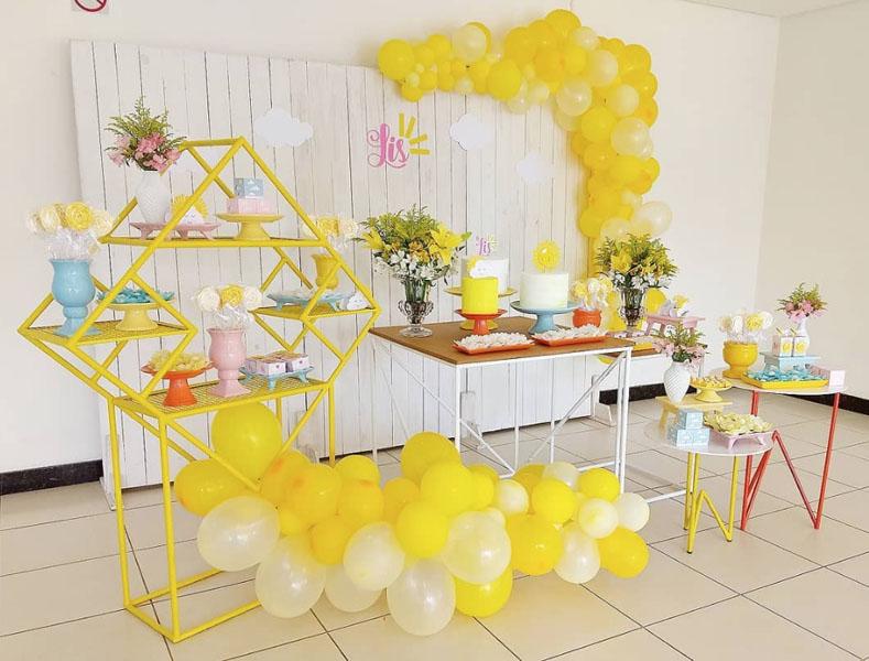 19 Ideia Festa Sunshine