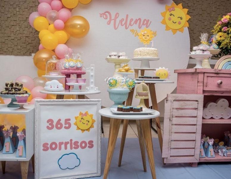 2 Festa Raio de Sol 40 Ideias Incriveis