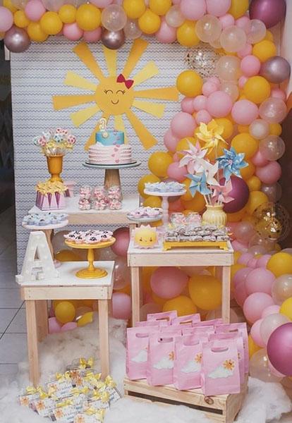 27 Festa Infantil Tema Sol