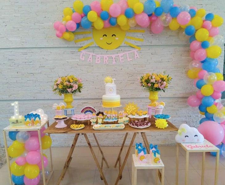 29 Decoracao Festa You Are My Sunshine