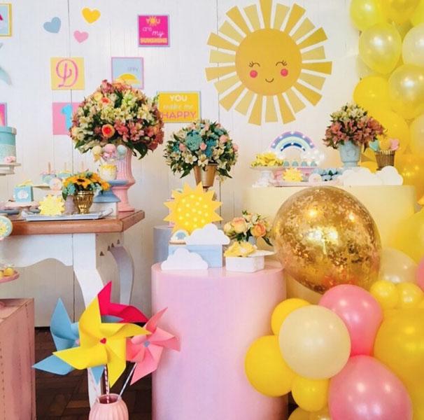 34 Decoracao Festa Sunshine
