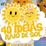 40 Ideias Festa Tema Raio de Sol